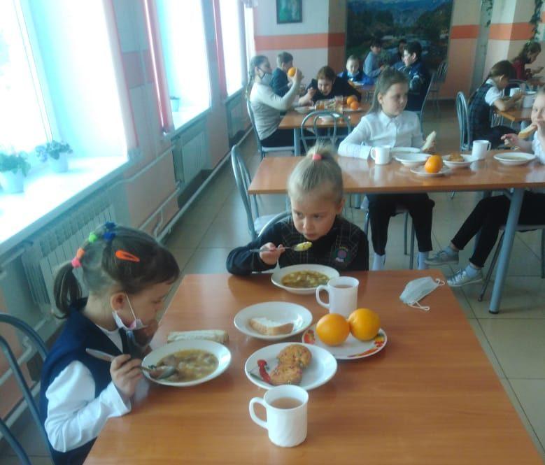 Контроль питания младших школьников в филиале МБОУ «Михайловский лицей» «Бастанская СОШ»